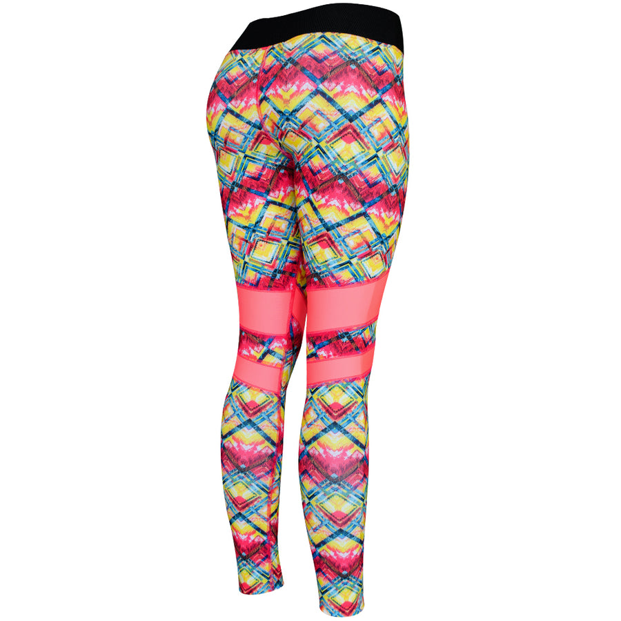 Legging Deportivo Mujer Champs State Firepower Stripes