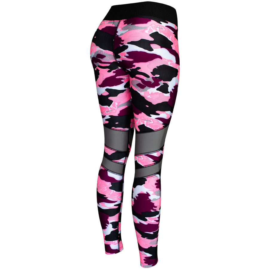 Legging Deportivo Mujer Champs State CamoPink Stripes