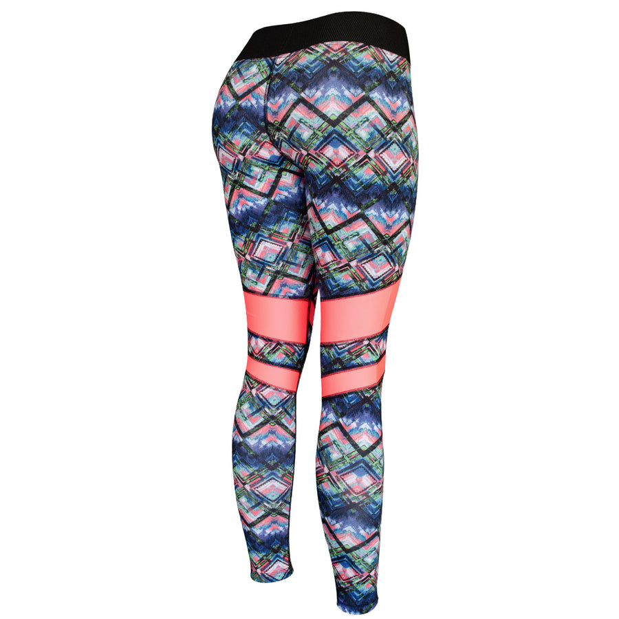 Legging Deportivo Mujer Champs State Winter ColorMint Stripes