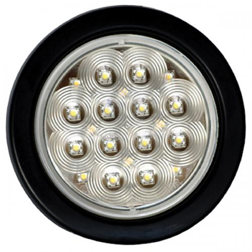 LED Flushmount 138mm Round 10-30V White V2-547164