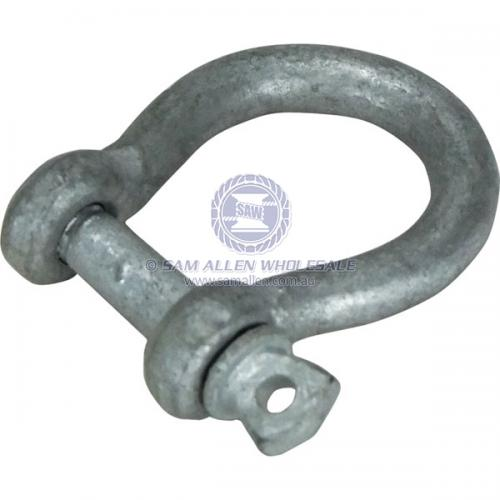 6mm Galvanised Bow Shackles