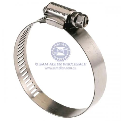 9.5mm - 12mm Stainless Steel Hose Clamps Box 10 V2-764050