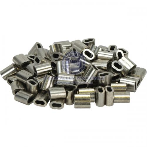 2.0mm Swages - Hand - Nickel Plated Copper - Made in China V2-580086