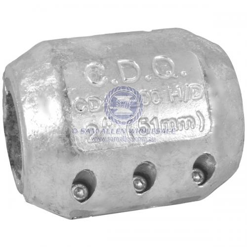 Anode Zinc Shaft Heavy Duty 82mm - 3-1/4