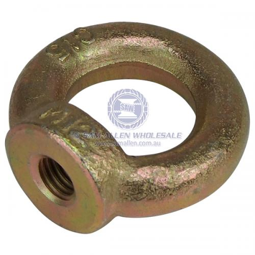 Eye Nut 24mm DIN 580 Gold V2-130022
