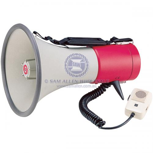 SHOW® Megaphone Shoulder Type - With Siren & Whistle V2-180041
