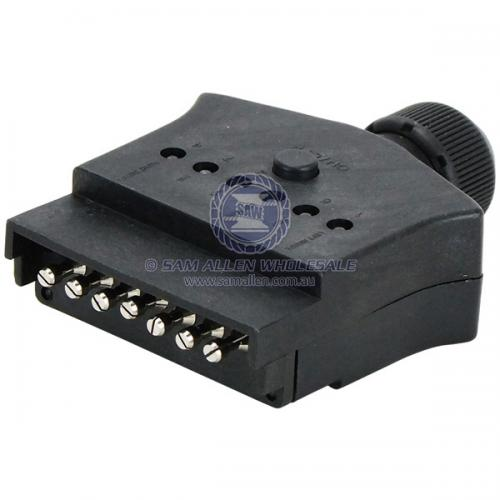 7 Pin Flat LED Trailer Plug V2-54645