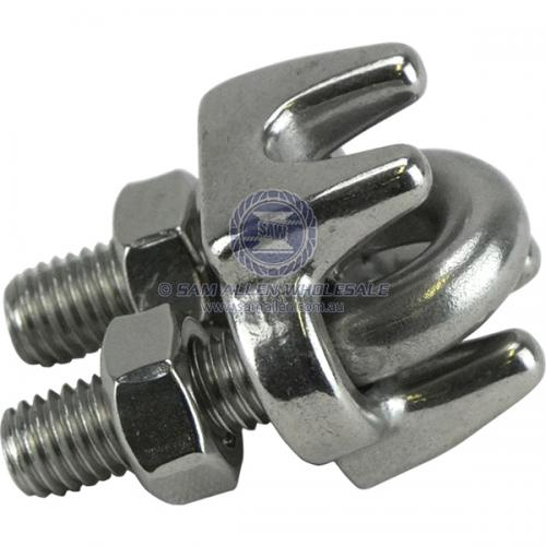 10mm Stainless Steel Wire Rope Grip V2-56128