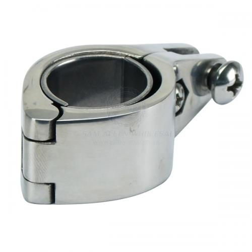 Stainless Steel Opening Canopy Clamp - Opens 1-1/4