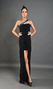 Tube high low gown