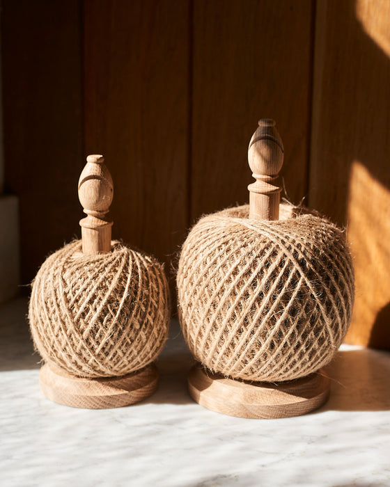 Oak Garden twine stand with Large 500g/250g jute string