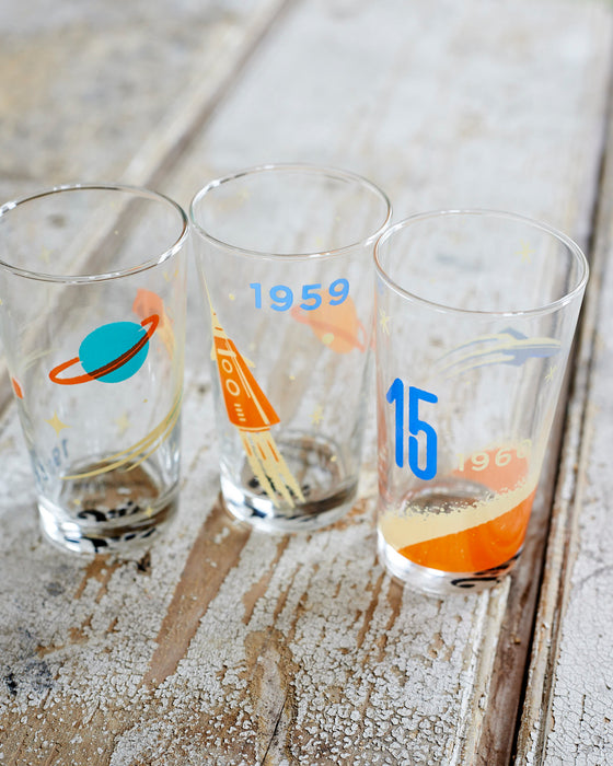 Cosmos drinking glasses
