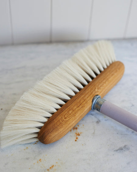 Finest quality goat hair oak broom head
