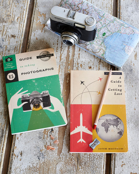 Notebook-retro photography & travel folio