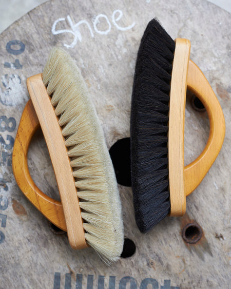 Finest Quality horse hair shoe shining brush