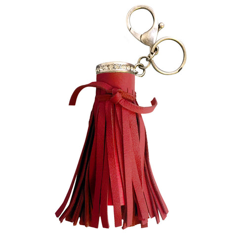 Red Haute Tassel
