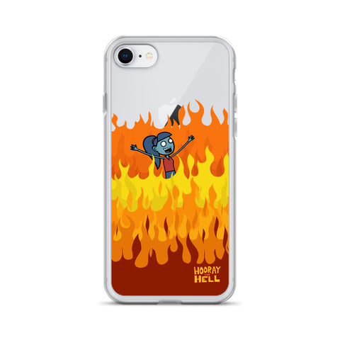 Hooray for Hell iPhone Case