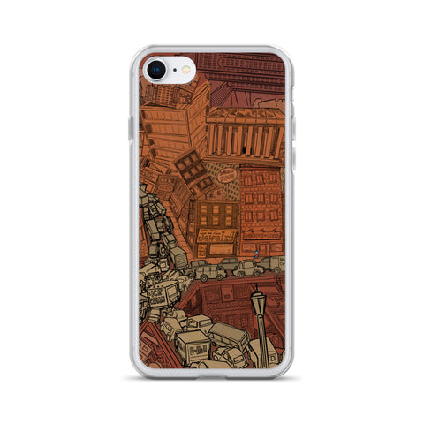 Hell Traffic iPhone Case