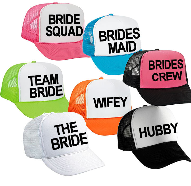 1817b1dfb82 Bridal Party Trucker Hat – Entwined Design