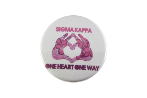 Sigma Kappa Hands Button