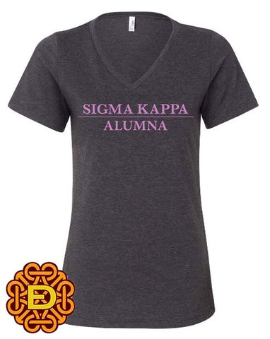 Sigma Kappa Alumna Relaxed Fit T-Shirt