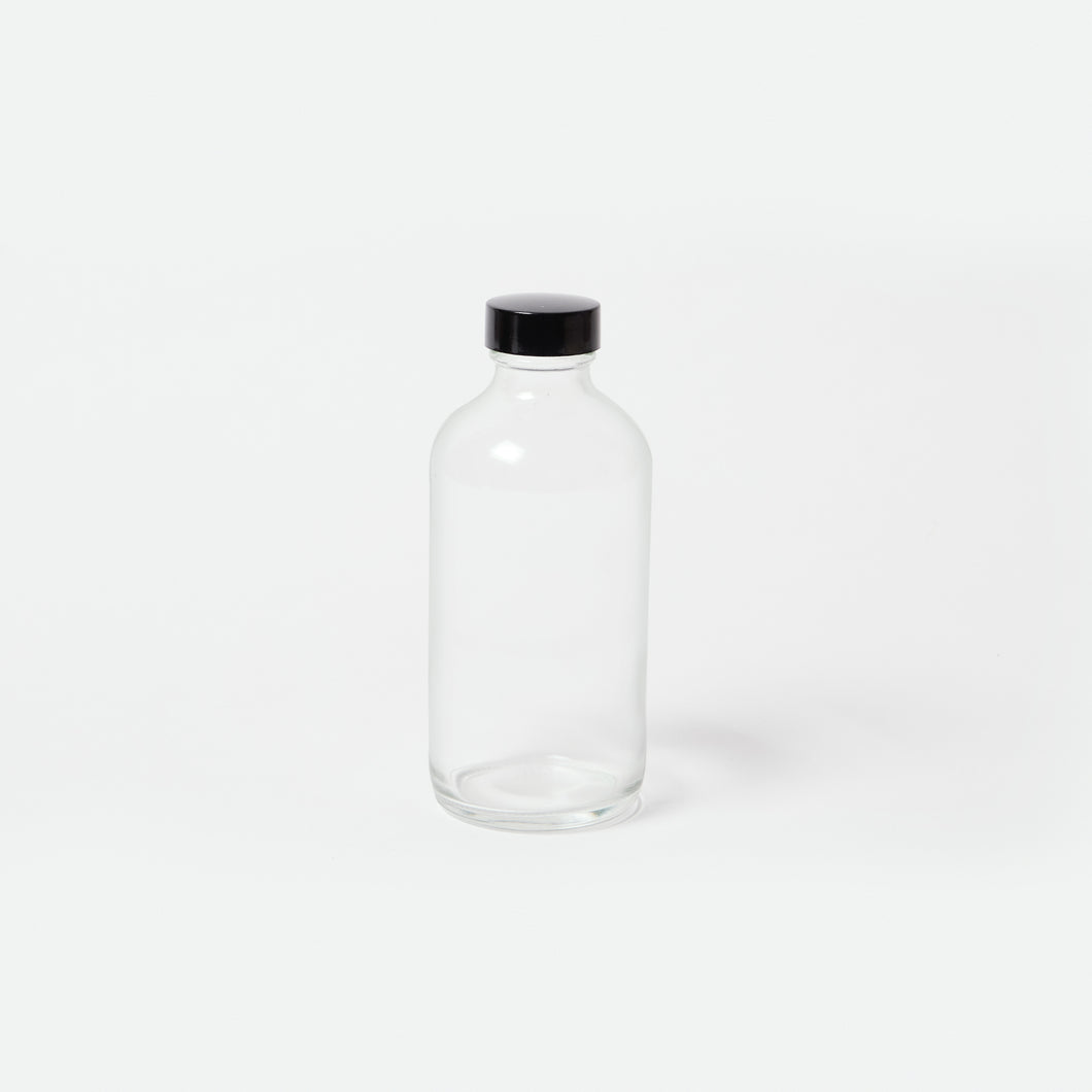 Clear Glass Bottle - 8oz