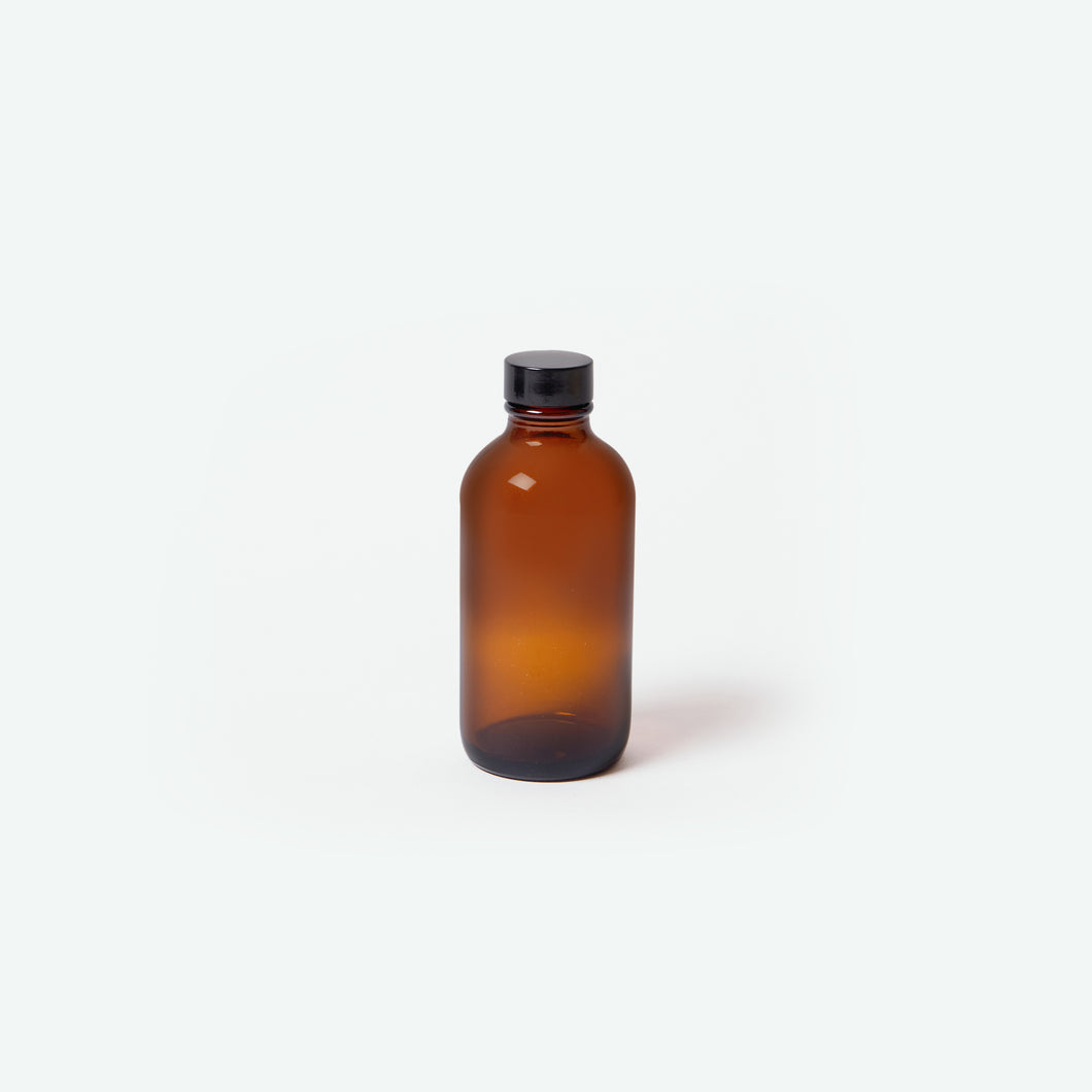 Amber Glass Bottle - 4oz
