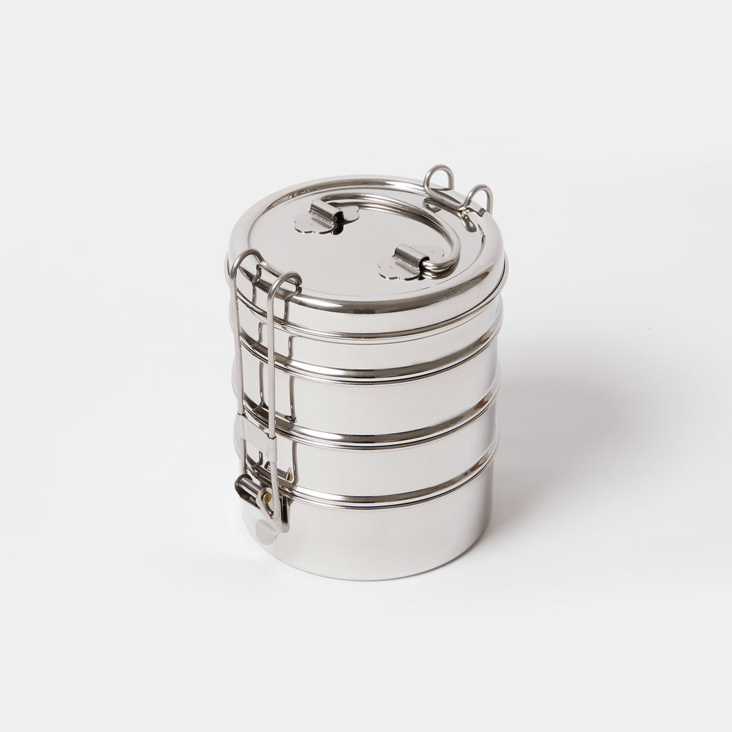 Stainless Steel 4 Layer Tiffin