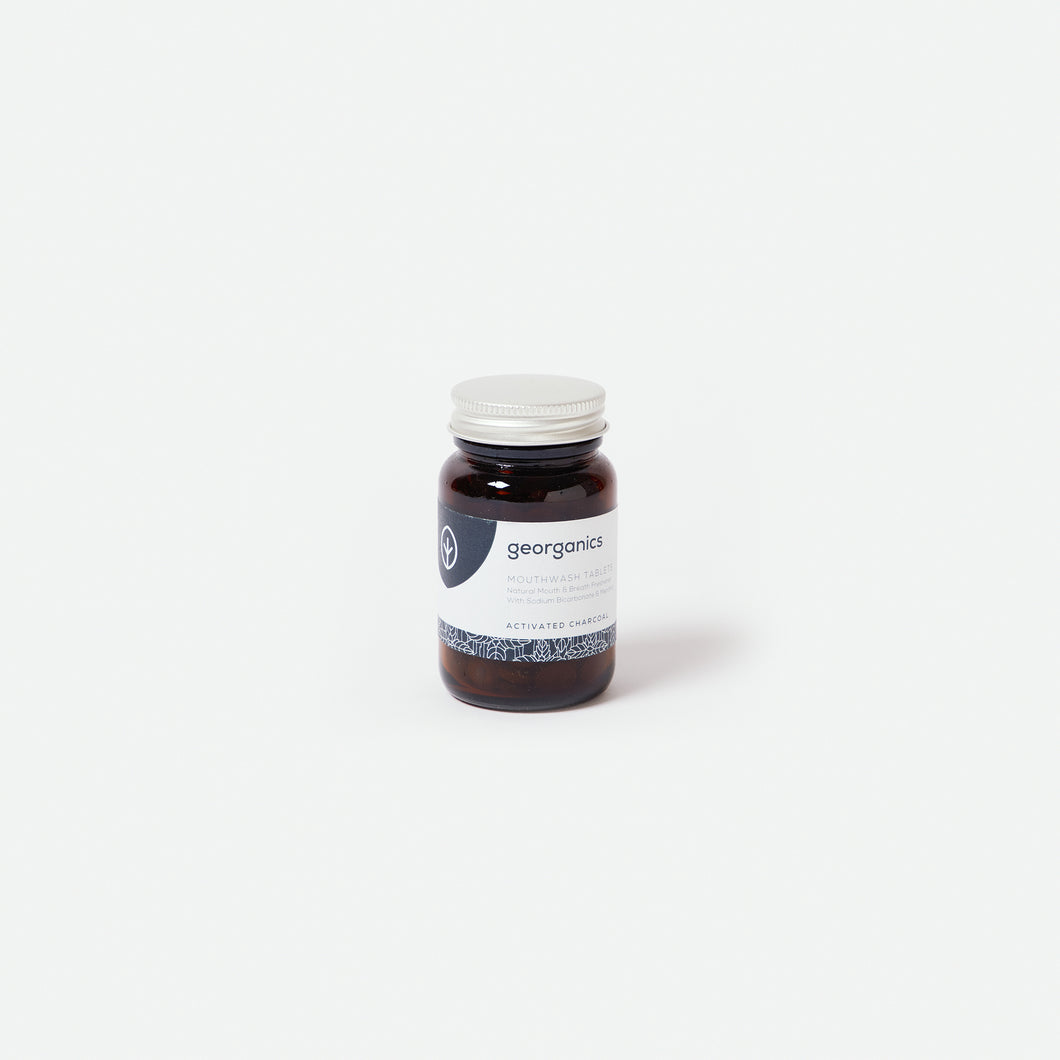 Mouthwash Tablets - Activated Charcoal