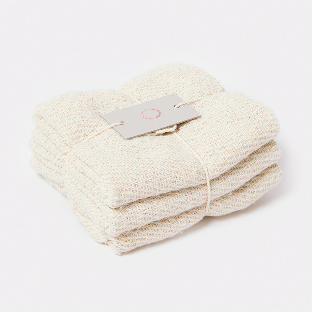 Open Weave Cotton Hand Towel (Set of 3)