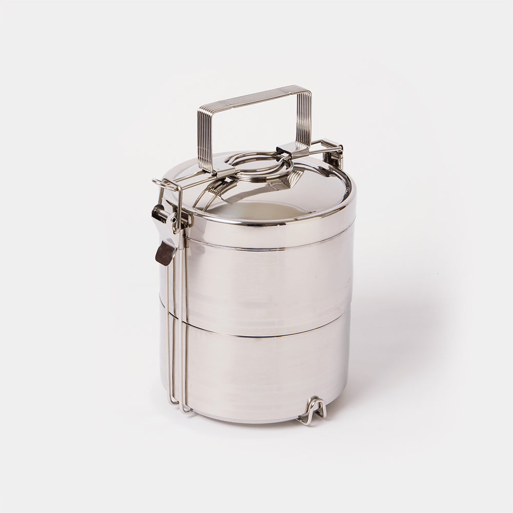 Stainless Steel 2 Layer Tiffin
