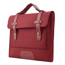 Load image into Gallery viewer, Felt 13 15 inch Laptop Shoulder Bag for - RealBigEnvelope