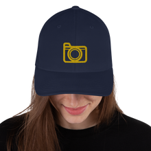 Load image into Gallery viewer, Camera Logo - Structured Twill Cap - RealBigEnvelope