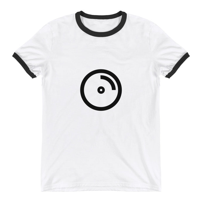 Compact Disc Ringer T-Shirt - RealBigEnvelope