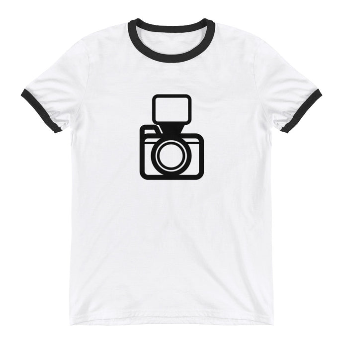 Camera Flash Ringer T-Shirt - RealBigEnvelope
