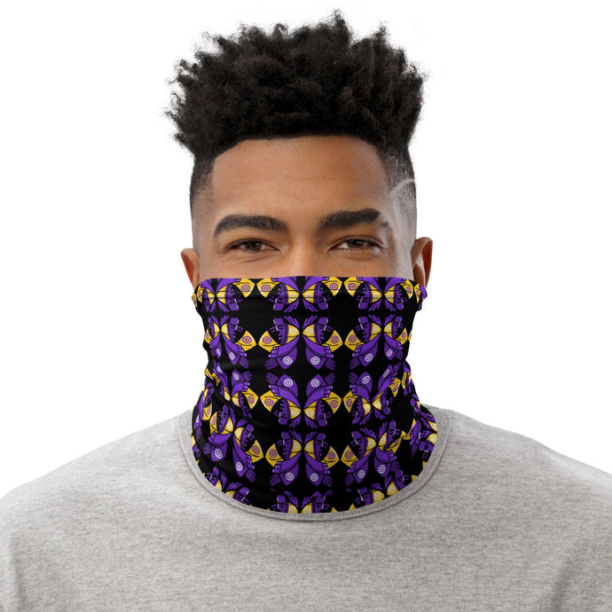 Sleeping Manga Design Neck Gaiter