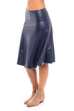 Leather Skye Skirt (Israel only)