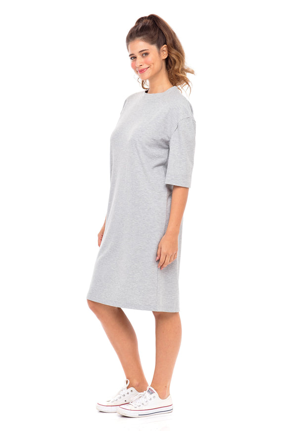 Ribbed T-Shirt Dress (Israel only)
