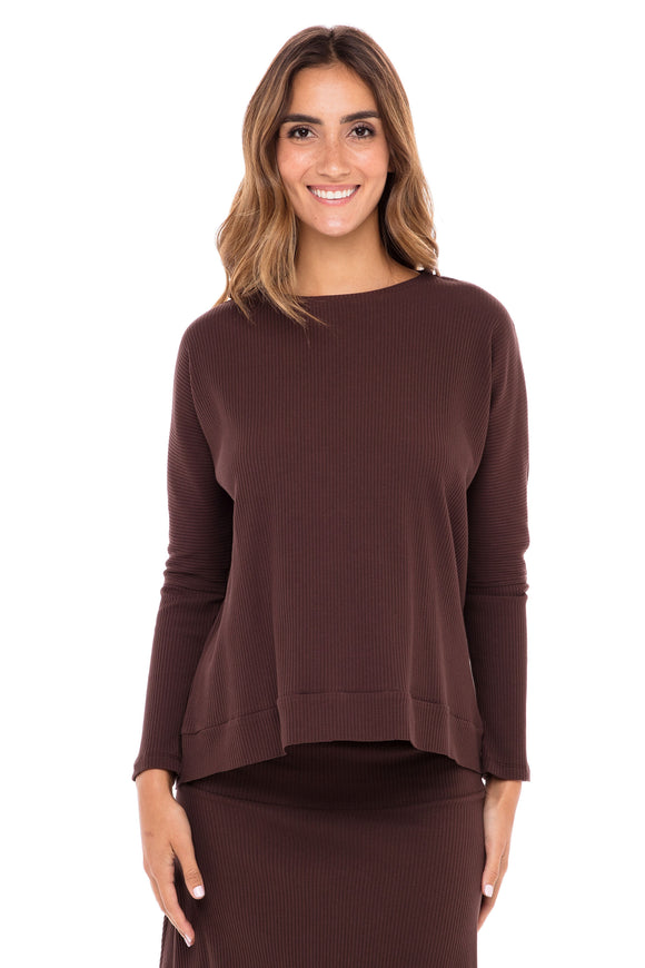 Ribbed Skye Top (Israel only)