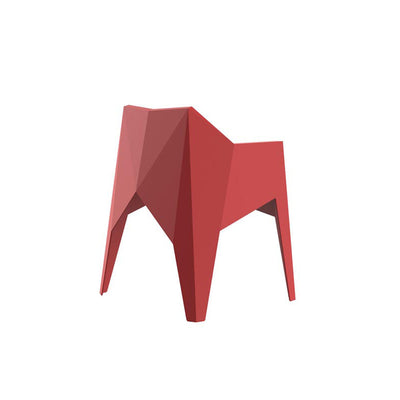 Voxel armchair red