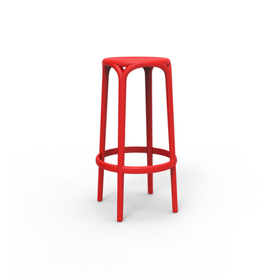 Brooklyn stool red