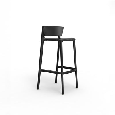 Africa bar stool black