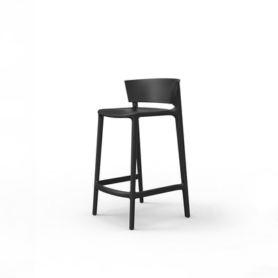 Africa counter stool black