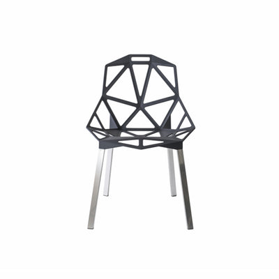 Chair one gris antracita
