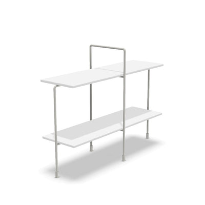 Traffic low table white