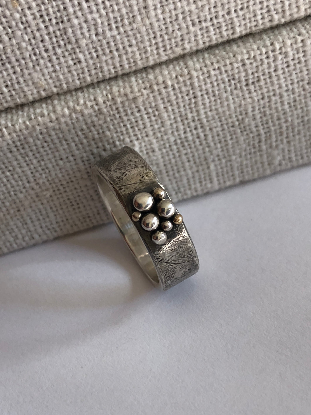 Distressed Granule Ring