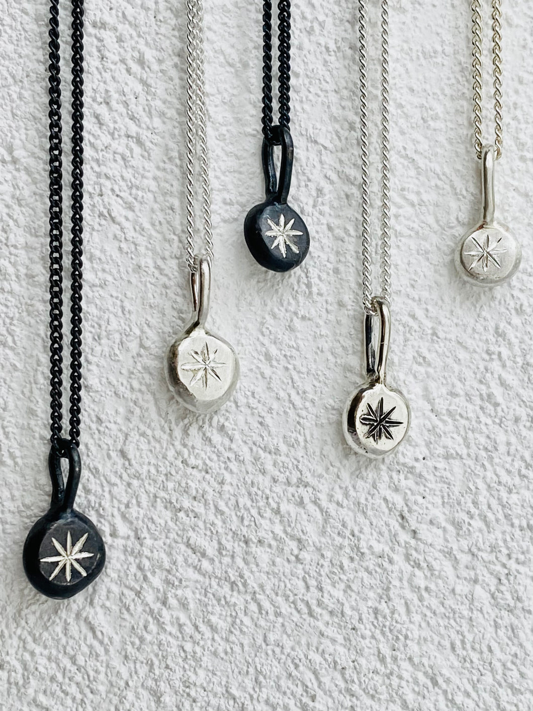 Guiding Star Amulet Pendant & chain