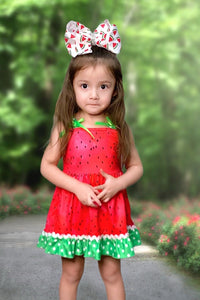 Watermelon Seed Printed Dress