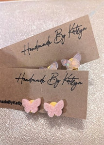 Clip-on Butterfly Shaped Earrings