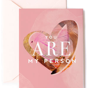 You're My Person - Love Card, Anniversary Card, Valentine's